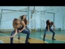Мои девочки с гимнастическим танцем под мою любимую песню