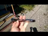 Железнодорожный костыль,  проточенный!!