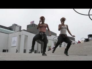Jayane and kayliss french dancehall blazin twins in montreal canada yak films