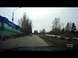 2017-04-04-15-11-10 Томск - попытка опасного обгона МАТЫ 18+