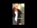 Алексей Воробьев и Анастасия Денисова на съемках сериала Деффчонки 6 сезон Instagram Stories Анастасии 26.09.2017
