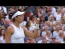 Wimbledon 2017 Женский финал Гарбинье Мугуруса 14 Винус Уильямс 10