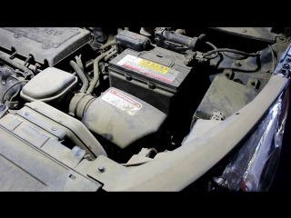 KIA Sportage (Киа Спортейдж) замена масла в двигателе, салонного и воздушного фильтра.