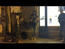 Кавер на гитаре Nirvana (Уличный музыкант, Питер)