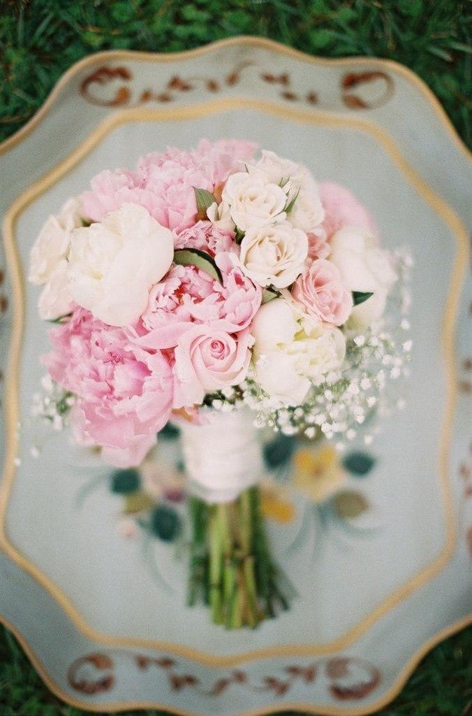 Самые нежные и удивительные свадебные букеты уходящего лета