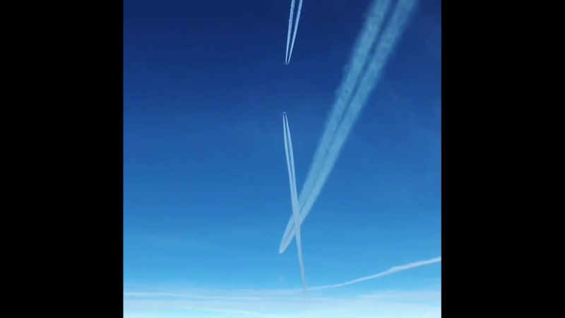 Встреча на эшелоне RVSM Evrocontrol B737-800, A330-300,A320-200