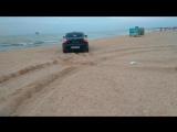 На пляжу Азовского моря