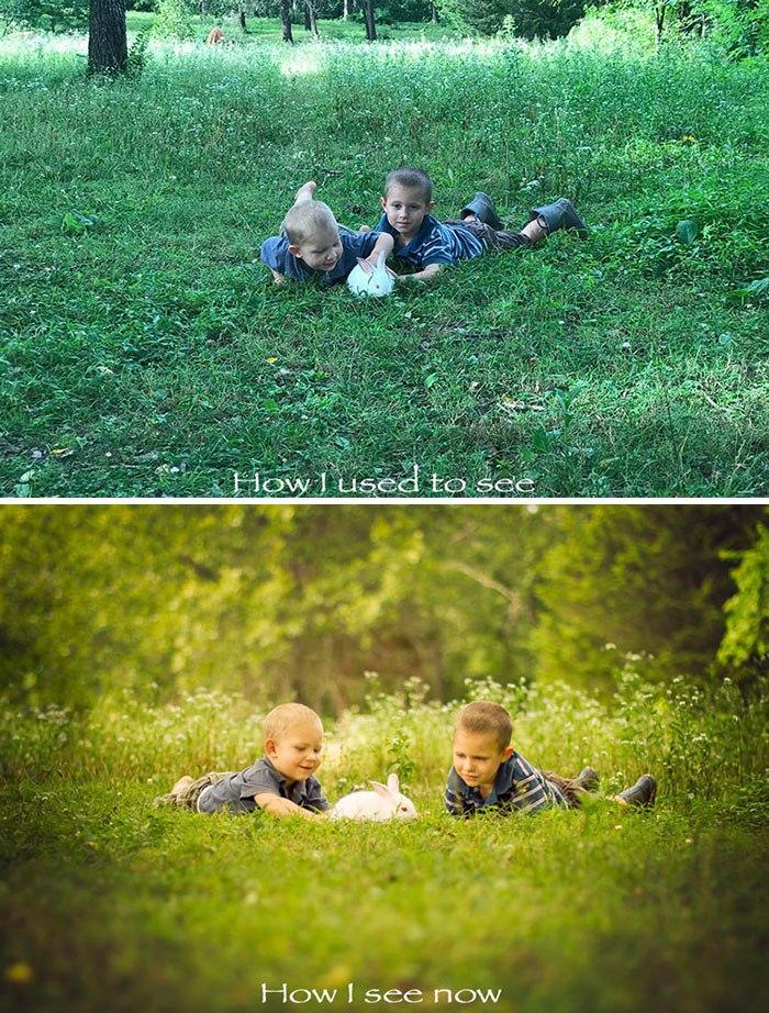 Снимки, сделанные профессионалом, в сравнении с обычными фотографиями