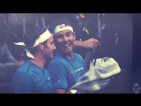 Historic moment | Roger Federer & Rafael Nadal