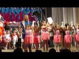 Награждение коллектива Матрёшки за номер  Барби Лауреат 2 степени