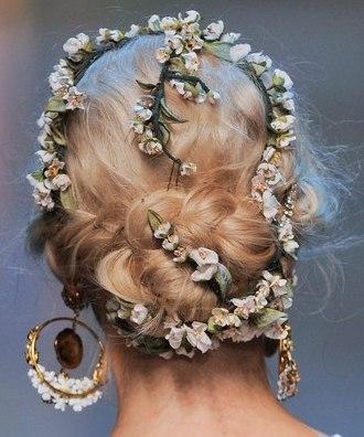 K3vJzTp4MXw - Модные свадебные прически от Dolce and Gabanna