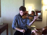 Jazz Violin Duo- Eli Bishop and Christian Howes play Charlie Parker's Scrapple from the Apple
