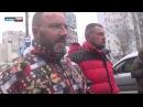 Марш пленных Киборгов в Донецке 22.01.2015