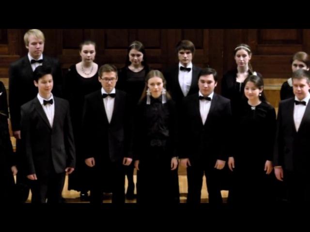 Смешанный хор КМК им.И.В.Аухадеева на Отчетном концерте 8 декабря 2015 г.