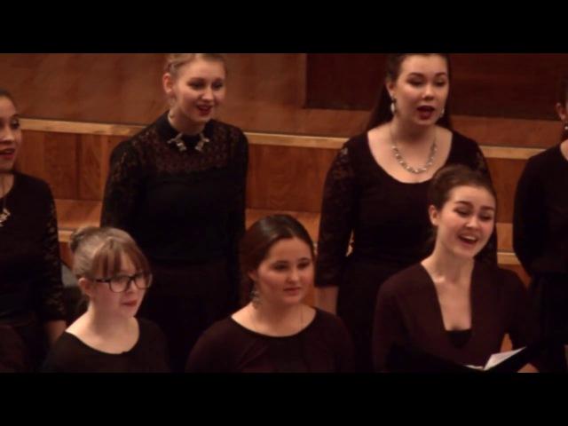 Смешанный хор КМК им.И.В.Аухадеева на Отчетном концерте 2 декабря 2016г.