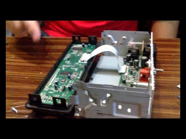 Про магнитолы 1 SUPRA SFD-85U - ремонт