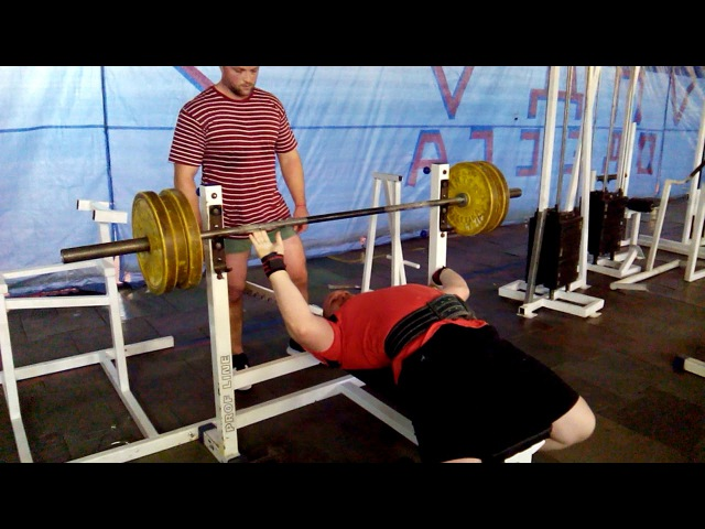 Bench press 130 kg on 13 times