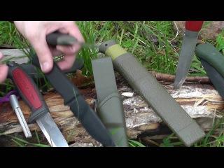 Ножи MORA для туризма, походов, survival - обзор и тесты