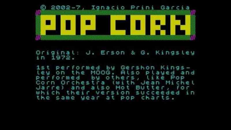 ZX Spectrum 128k: Pop Corn (G. Kingsley)