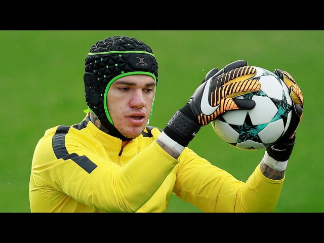 Ederson Moraes ● Best Goalkeeper Training Warm Up (Manchester City Benfica)