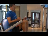 Tim Cahill Training In The Gym  Professional Soccer PlayersFootballers Weight Training