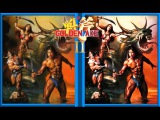 Golden Axe 2 (SEGA) - Original vs Color hacked version comparison - with download link
