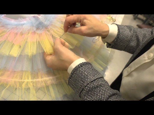 Constructing a Classical Ballet Tutu (Part 5: Hooping and Quilting the Skirt)