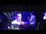 Marc Anthony crying on stage