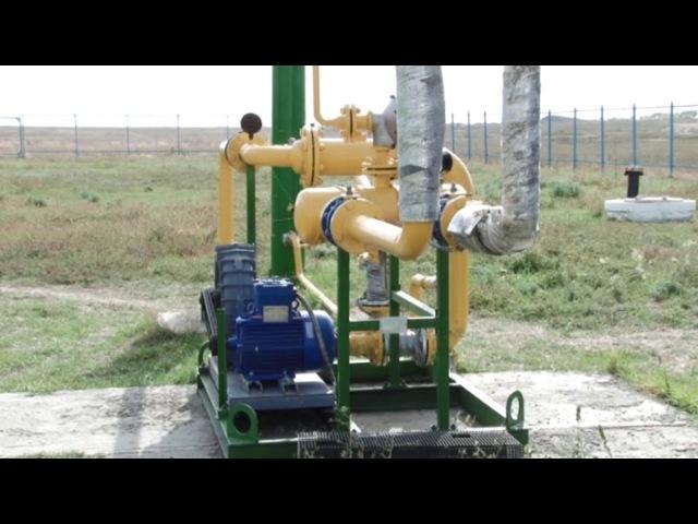Об изменении русла реки Карасу и о работе биогазовой установки - аким Карасуского района В.Ионенко