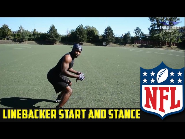 How To NFL Linebacker STANCE AND START Drill