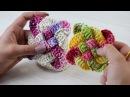 Crochetando com EuroRoma e Sandra Brum - Quadradinho Trançado