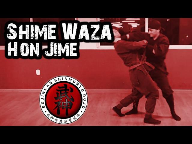 Ninjutsu   Shime Waza - Hon Jime