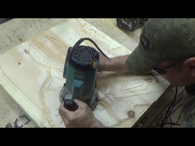 ЧПУ НЕРВНО КУРИТ В СТОРОНКЕ- необычный способ резьбы фрезером-WOODWORK -CNC