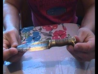 уникальный боевой окопный нож времён Великой Отечественной Войны