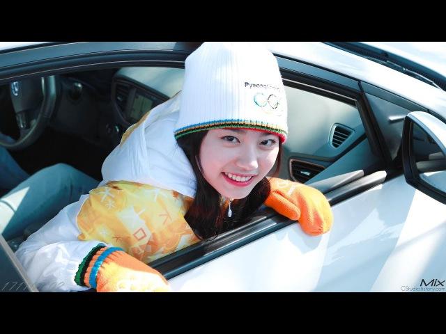 [4k]171102 평창 동계올림픽 성화봉송 제주 김소혜(sohye) focus