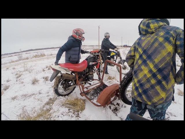 Оторвало колесо на коляске / Лайф видео с гонок