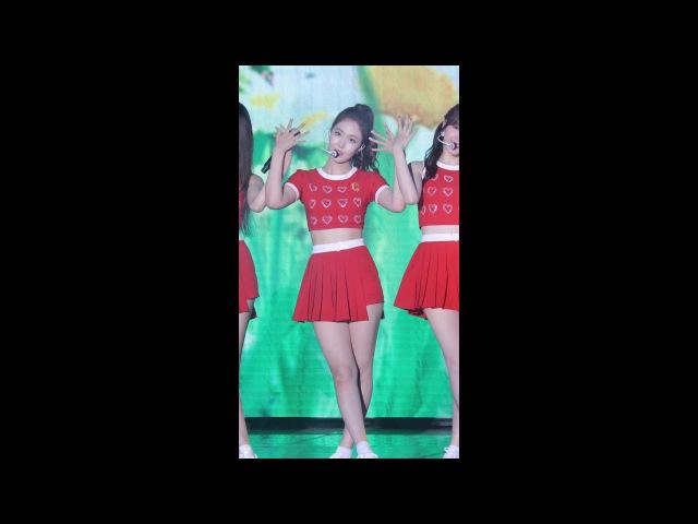 [4K] 170812 여자친구 신비 직캠 (GFRIENDSinb) - 귀를 기울이면(LOVE WHISPER) @DMZ평화콘서트(평화누리공원)