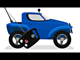Dessin animé. Voitures voituresjouets: Dr McWheelie DrMcWheelie répare une voiture jouets de SENYA