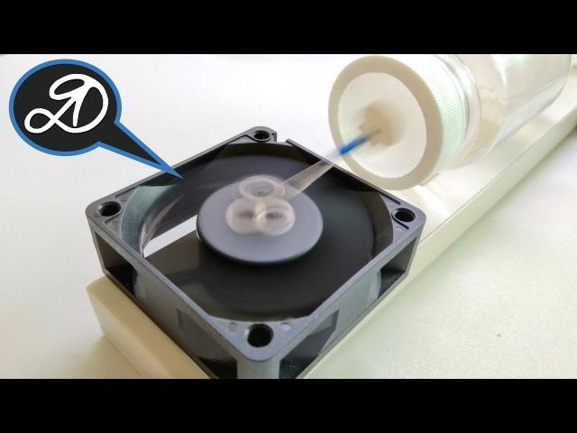 Воздушный компрессор своими руками Как сделать мембранный воздушный насос