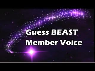 K-Pop Game #7 Guess Member Voice (BEAST)