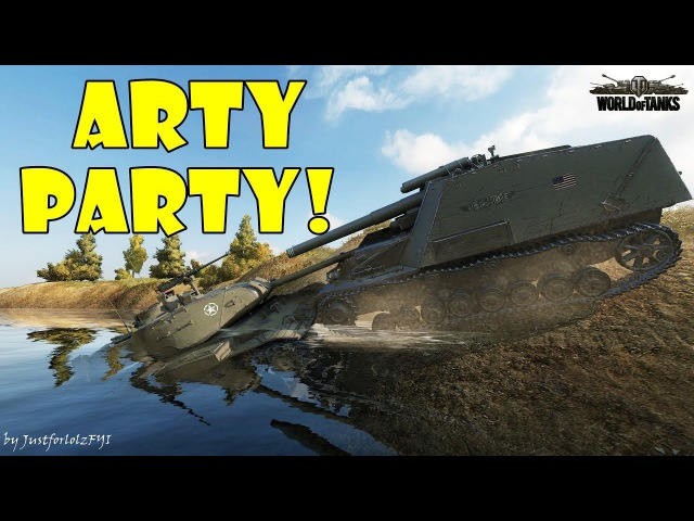 World of Tanks - Funny Moments | ARTY PARTY! 46