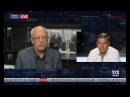Олег Соскин и Тарас Стецькив в Вечернем прайме телеканала 112 Украина, 17.08.2017