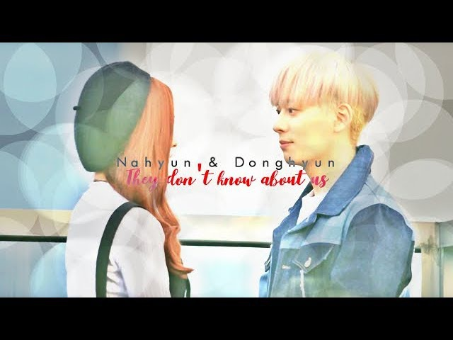{MV} Nahyun Donghyun - They don't know about us