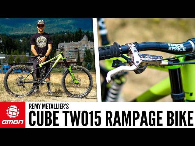 Remy Metallier's Cube Two15 Red Bull Rampage Bike