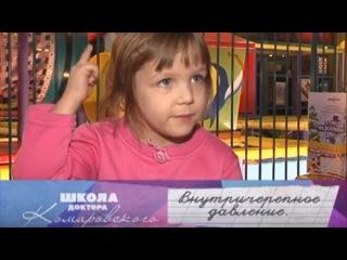 Внутричерепное давление - Школа доктора Комаровского