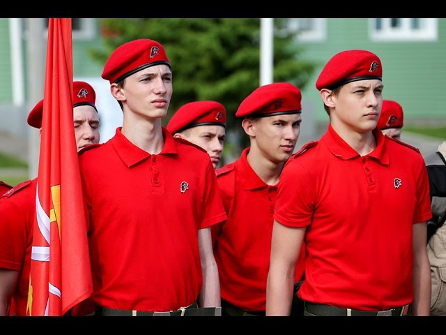 Торжественная церемония вступления в ряды Всероссийского военно-патриотического движения ЮНАРМИЯ