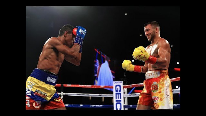 Vasyl Lomachenko vs Miguel Marriaga HD
