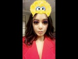 Snapchat post by Vanessa Hudgens