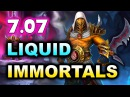 LIQUID vs IMMORTALS 7 07 PATCH AMD SAPPHIRE DotaPIT DOTA 2