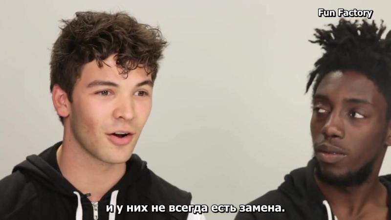 Цис-мужчины первый раз испытывают менструацию Guys Experience Periods For The First Time rus sub (1)